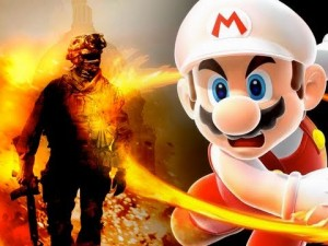 mario vs call of