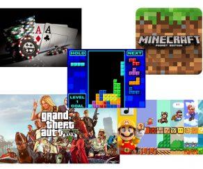 Un regard rapide sur 5 jeux vidéo populaires